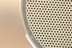 Detail of small speaker Royalty Free Stock Photos