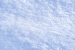 Detail of snow texture with shadows  Stock Photography