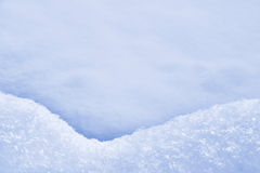 Detail of snowdrift - snow texture Royalty Free Stock Photos