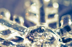 Detail of snowflake Royalty Free Stock Images