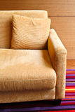 Detail of sofa in the living room Royalty Free Stock Photography
