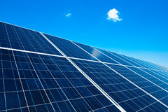 Detail of a Solar Panel Royalty Free Stock Photos