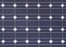Detail of a solar panel royalty free stock photo