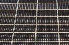 Detail of Solar Panel Royalty Free Stock Photo