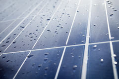 Detail of Solar Panel Royalty Free Stock Photos