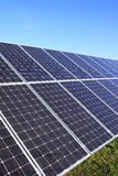 Detail of the Solar Power Station Stock Photo