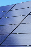 Detail of Solar Power Station Stock Photo