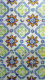 Detail of some portuguese tiles Royalty Free Stock Photography