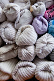 Detail of Sorted Socks Stock Images