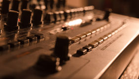 Detail of Sound Module Royalty Free Stock Photos