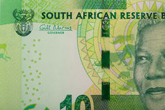 Detail of sout african rand Royalty Free Stock Images