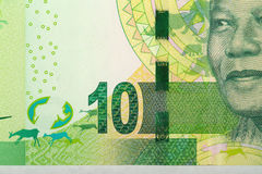 Detail of sout african rand Stock Image