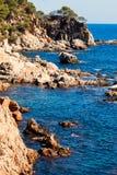Detail of the Spanish coast Royalty Free Stock Photos