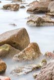 Detail of the Spanish coast Royalty Free Stock Photo