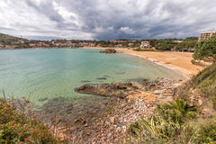 Detail of the Spanish coast Stock Photo