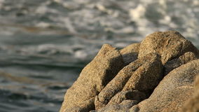 Detail of the Spanish coastal stock footage