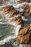 Detail of the Spanish coastal Royalty Free Stock Photography