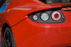 Detail of a Sports Car Royalty Free Stock Photography