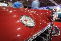 Detail of a sports car Chevrolet Corvette (C1), 1960 Stock Photos
