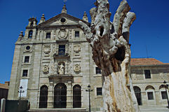 Detail of a Square in Avila Royalty Free Stock Photos