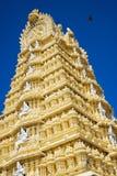 Detail of Sri Chamundeswari Temple Stock Image