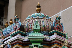 Detail Sri Mahamariamman stockbild