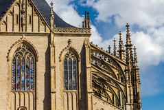 Detail Of St.Barbara's Church (Cathedral)-Kutna Hora Stock Photography