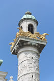 Detail from St. Charles's Church in Vienna Stock Image