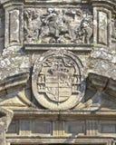 Detail of St James killing the Moors in Santiago de Compostela Stock Image