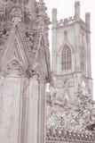 Detail on St Luke's Church Ruins, Liverpool Stock Image