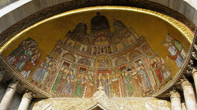 Detail of st mark basilica Royalty Free Stock Images
