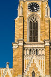 Detail of St. Mary's Cathedral in Novi Sad Royalty Free Stock Photo