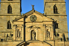 Detail of the St. Michael's monastery in Bamberg, Germany Royalty Free Stock Image