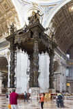 Detail of St. Peter's Basilica Vatican City Stock Photos