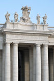 Detail of St. Peter's Square Royalty Free Stock Image