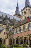 Detail of the St. Viktordom. Royalty Free Stock Photography