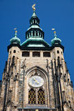 Detail of St. Vitus' Cathedral Royalty Free Stock Image