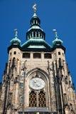 Detail of St. Vitus' Cathedral. Prague Royalty Free Stock Image