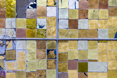 Detail of a Stained Colorful Window. Abstract Texture Background Royalty Free Stock Photos