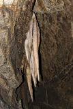 Detail of Stalactite in Aggtelek cave Royalty Free Stock Image