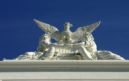 Detail from the State Capitol. Stock Image