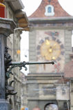 Detail of Statue in Bern Old Town Royalty Free Stock Photo