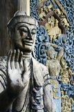 Detail of statue of buddha Stock Images