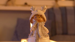 Detail statue of a Christmas elf. Detail statue of a Christmas elf Royalty Free Stock Image