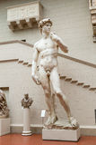 The detail of statue - David by Michelangelo Royalty Free Stock Photography