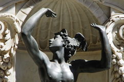 Detail of the statue of Perseus by Benvenuto Cellini in Florence Royalty Free Stock Photos