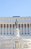 Detail of statue at Piazza Venezia, Rome, Italy Stock Photo