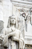 Detail of statues in mausoleum of The Andrassy family, Slovakia Royalty Free Stock Images