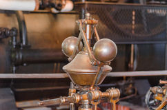 Detail of a steam engine. Stock Images