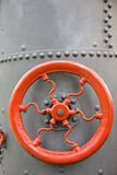 Detail of steam machine. Detail of vintage steam engine Royalty Free Stock Photo